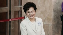 Carrie Lam is Elected as new Leader of Hong Kong.