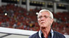 China PR head coach Marcello Lippi