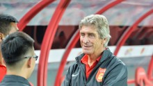 Hebei China Fortune head coach Manuel Pellegrini