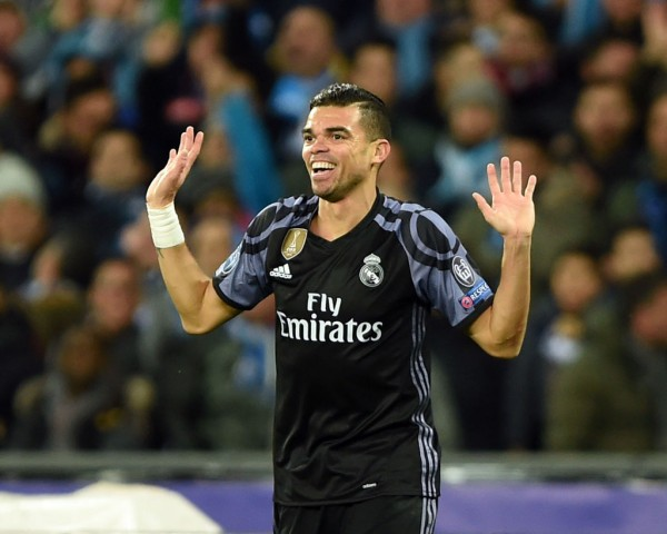 Real Madrid defender Pepe