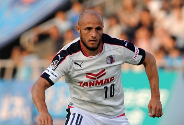 Former Cerezo Osaka and now Changchun Yatai striker Bruno Meneghel