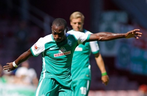 Former Werder Bremen and now Liaoning Whowin striker Anthony Ujah