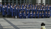 Graduates at Peking University