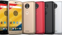Both Moto C and Moto C Plus will be available in black, white, gold, and red.