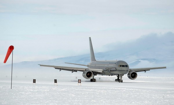 China to start construction of its first ever Antarctic airfield as early as year's end.