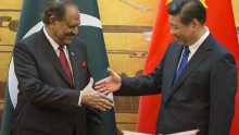 Pakistan President Mamnoon Hussain Visits China