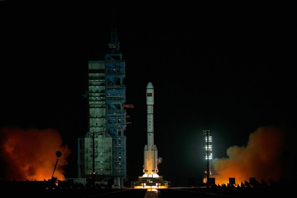 China launched its first cargo spacecraft Tianzhou-1.