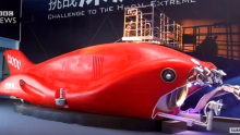 China's submersible Jiaolong