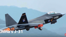 China's twin engine J-31 could replace the single-engine J-10 as a medium fighter.