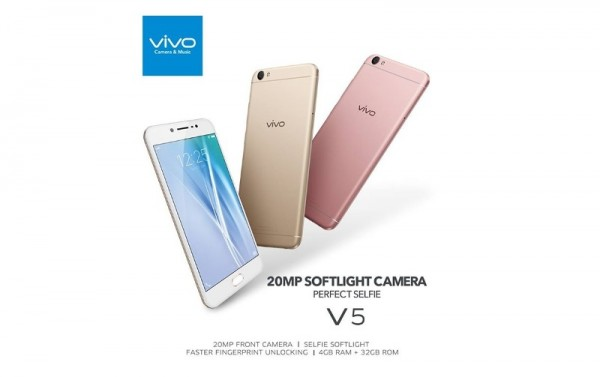Vivo V5s Smartphone Launched in Malaysia