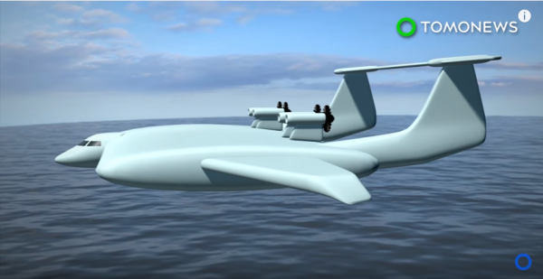 Ground-effect unmanned aerial vehicle