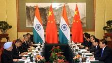 Indian Prime Minister Manmohan Singh Visits China