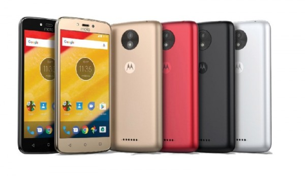 Lenovo Officially Launches Moto C and Moto C Plus Smartphones