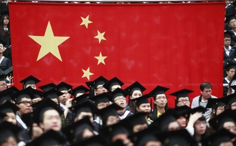 Foreign espionage plots are targeting Chinese college students, says China state media.