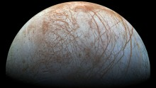 Jupiter's icy moon, Europa