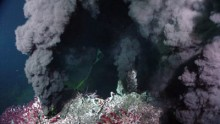 Hydrothermal vents found underwater can trigger life.