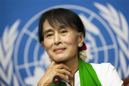 Aung San Suu Kyi Wins General Elections