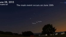 Venus And Jupiter Are Having A Celestial Date Tonight