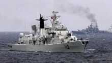 China Navy Exercise