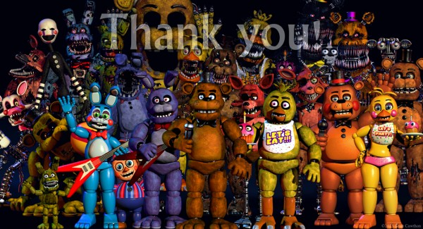 'Five Nights At Freddy's' Update: Makers Release A Sneak Peek Of The Upcoming Halloween Version!
