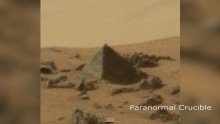 An artifact that is found by Mars Curiosity Rover and is believed to be a capstone of a larger pyramid.