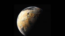 Pluto's Psychedelic Shot Using Data From New Horizons Showing Surprising Features of Its Surface