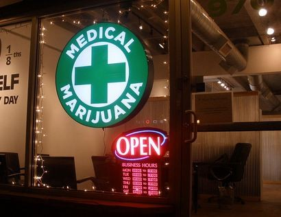 Medical Marijuana dispensary in the US.