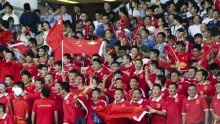 China national football team fans