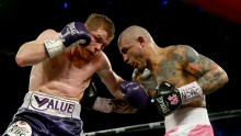 Canelo Alvarez (L) vs Miguel Cotto