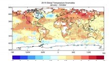 A new WMO global climate report reveals that 2015 will be the hottest year ever on record.