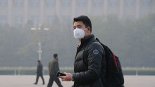 Yellow Alert For Air Pollution In Beijing