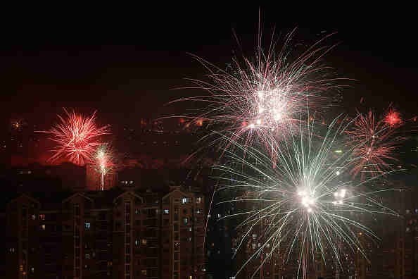 Fireworks Bans In China