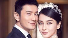 Huang Xiaoming and Angelababy