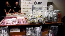 Major drugs bust: Australia police seize meth-filled bras