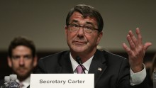 Ash Carter To Visit U.S. Aircraft Carrier.