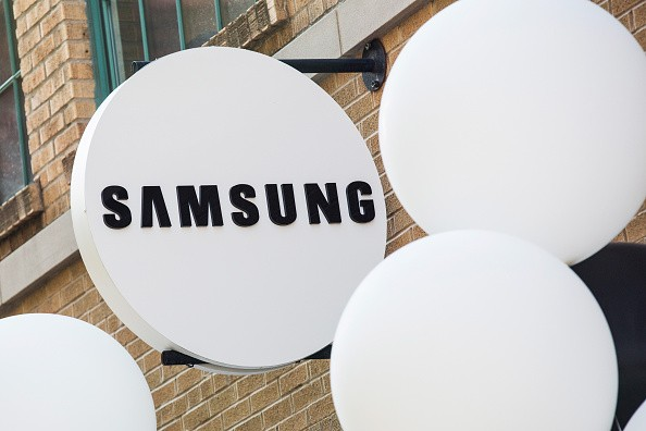 A Samsung store is seen on August 21, 2015 in New York, United States.