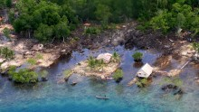 Five islands of the tiny tropical nation of Solomon Islands have now vanished due to rising sea levels.