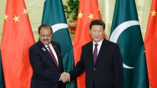 China and Pakistan.