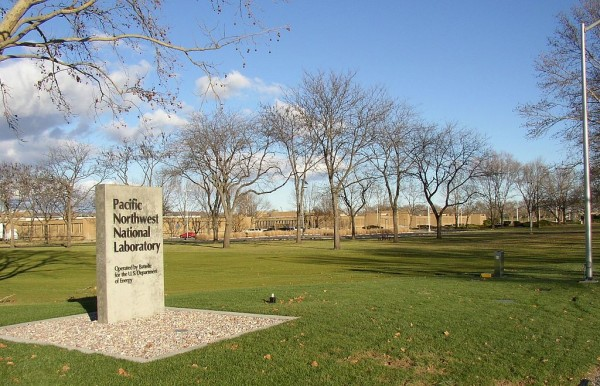 The Pacific Northwest National Laboratory campus at Richland, Washington.