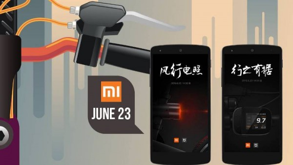 Xiaomi Mi Smart Bike to Launch Today at an Event in China