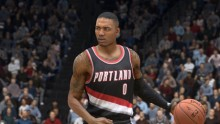 Damian Lillard is the new cover of 'NBA Live 15'