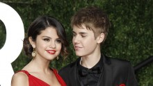 On-again couple, Selena Gomez and Justin Bieber