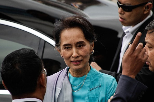 Suu Kyi's China Visit.