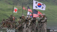 China Condemns Ongoing US-South Korean Military Exercises