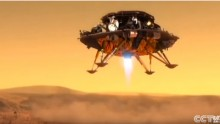 China released details of designed probe concept for the Mars Mission in 2020.