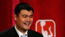 Basketball Hall of Famer Yao Ming
