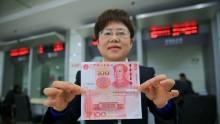 China's foreign exchange reserve shrank for consecutive third month in September.