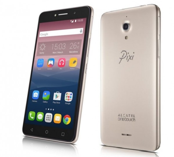 Alcatel PIXI 4 Smartphone to Arrive in Canada in October